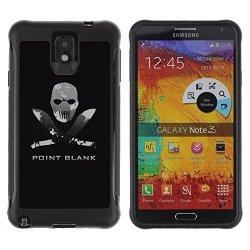 Tiktaktok Armor Defend Case Cover For Samsung Galaxy Note 3 N9000 - Point Blank Machete Face