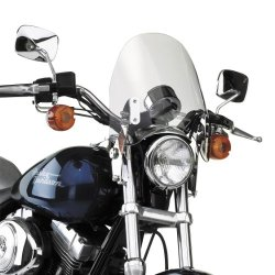 National Cycle Switchblade Deflector Windshield For Various Metric Motorcycles (See Specifications) - Clear - N21901