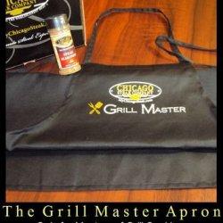 Chicago Steak Company Grill Master Chef'S Apron - Black