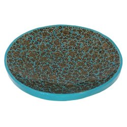 Serving Platter For Fruits Paper Mache Colorful Hand Painted Arts Kashmir