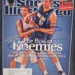 Steve Nash & Dirk Nowitzki Autographed Sports Illustrated Magazine (Dallas Mavericks)