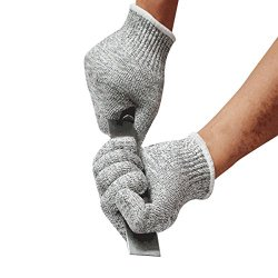 Oneplus Cut Resistant Gloves Offer Safe And Secure Hand Protection, Comfortable Grip High Performance Gloves (Small)