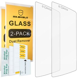 2-PACK-Mr-Shield-For-LG-G4-Tempered-Glass-Screen-Protector-with-Lifetime-Replacement-Warranty