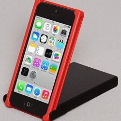 Trick Cover For Iphone 5 / 5S (Red X Black) Plastic Case Cover Nunchaku Butterfly Knife Action