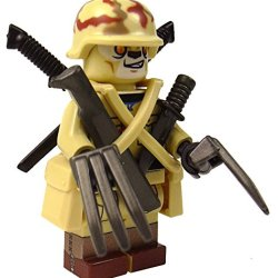 Brick Brigade Custom Lego Military Minifig Model Post Apoc Savage Soldier Blade Expert
