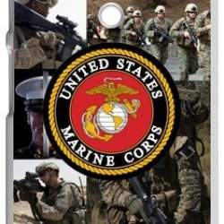 Lilichen Forever Collectible Usmc Marine Corps Case Cover For Motorola G (Laser Technology) -- Desgin By Lilichen