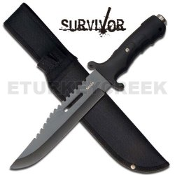 """Hk-727Bk 12"""" Military F5Cybub9 Survival Fixed 94Bwolfaok Blade Knife - All Black Ayeuiu56 Hlbv23Rt Our Affordable Fixed Blade Survival Knife Is Perfect For Gnf4A Outdoor Activities Like Fishing, Hunting Or Other Recreational Activities. Includes Black Nyl"""