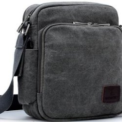 American Shield Travel Gear Ipad Tablet Small Single Shoulder Bag. For Wallet Credit Card, Watch.Outdoor Exercise Sport Pocket Purse Passport Cover.Ag-Qg2-C3 Grey