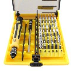 Topmei Non-Slip Ruber Design Hndle 45In1 Magnetic Precision Tool Screwdriver Repair Tool Set Kit For Mobile Pphone