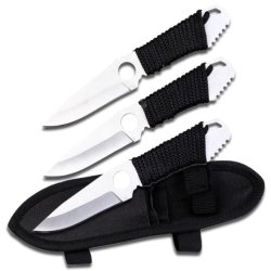 Perfect Point Tk-018-3S Throwing Knife Set 6.75-Inch Overall