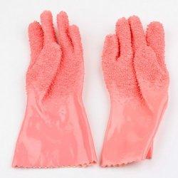 Bestdealusa Pink Instant Vegetable Peeling Tater Potato Peeler Gloves