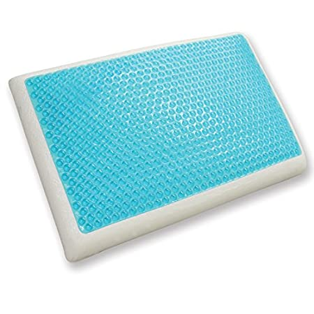 Classic Brands Reversible Cool Gel and Memory Foam Pillow The perfect combination of conforming memory foam and cooling gel! Memory foam surrounds a pad of Cool Gel material giving you a cooling sensation while you sleep, eliminating the need to flip...