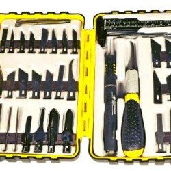 Pt Pt E0916, 36 Piece Knife Set With Mini Caliper E0916 (Pack Of 36)
