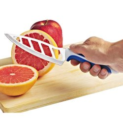 2-Pack Infinity Kitchen Knife With Vented Stainless Steel Blades