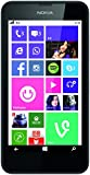 Nokia Lumia 630 Single-SIM Smartphone (11,4 cm (4,5 Zoll) Touchscreen, 5 Megapixel Kamera, HD-Ready Video, Snapdragon 400, 1,2GHz Quad-Core, Windows Phone 8.1) schwarz