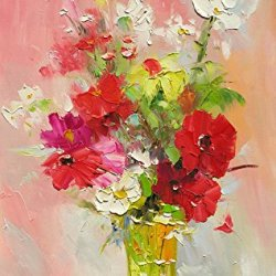Knife Painting Collect Unframed Painting On Canvas Palette Knife Flower For Me 18X12 In/45X30Cm