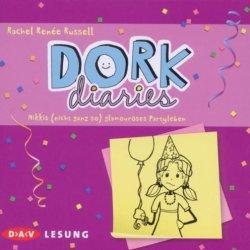 Dork Diaries - Nikkis (Nicht Ganz So) Glamouroses Partyleben, 2 Audio-Cds