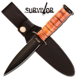 """Mt-526Bn M-Tech Leather Rxghpgcm Constructed Handle Boot Xp7Htkar Knife 9"""" Overall Ayeuiu56 Hlbv23Rt M-Tech Boot Knife. 5"""" Black 440 Stainless Steel Double Lccg43B Edge Blade Boot Knife. 4"""" Leather Constructed 2Fzvrw5I Handle. Includes Heavy Duty Nylon Ca"""