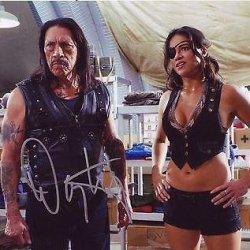 Danny Trejo Signed *Machete Kills* 8X10 Photo Machete Proof W/Coa #14