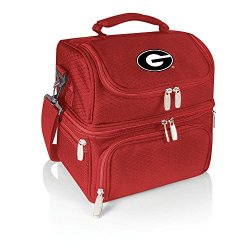 Ncaa Georgia Bulldogs Pranzo Insulated Lunch Tote, Red