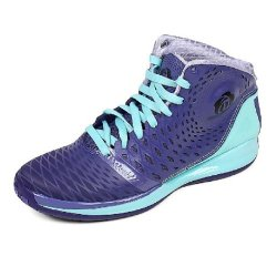 "Adidas Men'S D Rose 3.5 ""Murray Park Winter"" Basketball Shoes-Purple/Aqua-13"