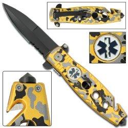 Emt Team Pride Folding Pocket Knife