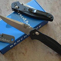Benchmade 943 Osborne Axis Lock Knife W/ Free Benchmade Mini Sharpener