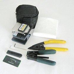 Fiber Optic Ftth Tool Kit Fc-6S Fiber Cleaver Kit Plier Stripper Fixed Wiring Stripper
