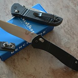 Benchmade 710D2 Mchenry & Williams Axis Lock Knife W/ Free Benchmade Mini Sharpener