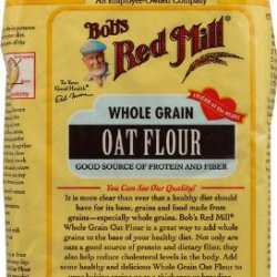 Bob'S Red Mill - Whole Grain Oat Flour, Good Sources Of Protein And Fiber, Kosher, 22 Oz (Pack Of 5)