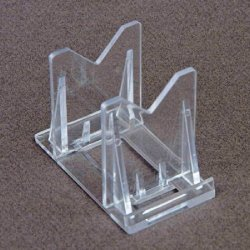 """(3) 2"""" Fishing Lure Display Stands Easels For Lures, Coins Or Other Collectables"""