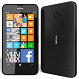 Windows Phone Nokia Lumia 630 Dual SIM RM-978 SIMフリー 海外携帯 (Black ブラック)