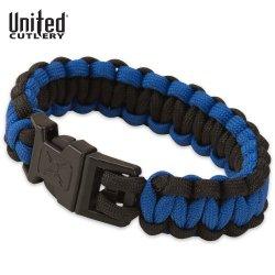 United Elite Forces Survival Bracelet Blue