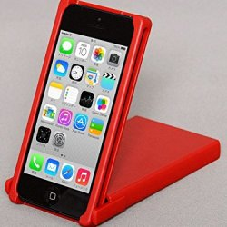 Trick Cover For Iphone 5 / 5S (Red) Plastic Case Cover Nunchaku Butterfly Knife Action