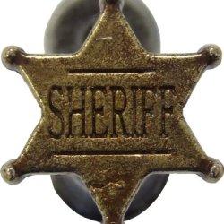 Denix Gun Or Sword Hanger Sheriff Badge