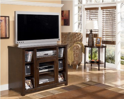Image of Dark Brown 42 inch TV Stand (ASLYW477-18)