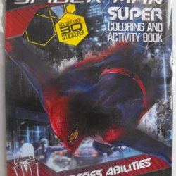 Marvel The Amazing Spiderman (Cross Species Abilities) Coloring And Activity Book 144 Pg With Over 30 Stickers.