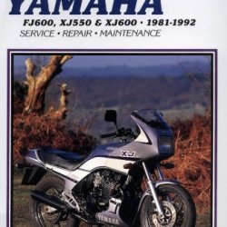 Clymer Yamaha Xj550 & Fj600 81-92: Service, Repair, Maintenance