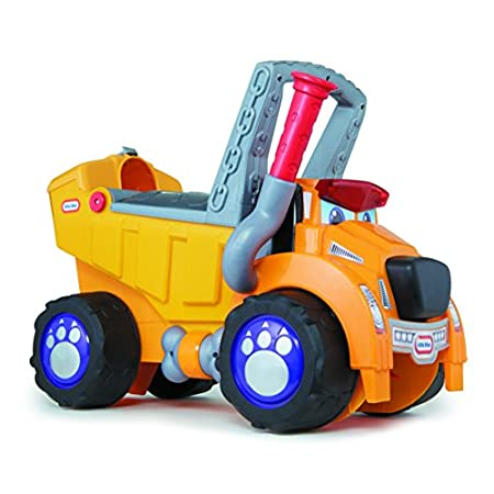 New, Little Tikes® Big Dog Truck™ Ride-on & Walker! From the trusted Little Tikes® family, the Big Dog Truck™ Ride-on & Walker offers years of fun with 4 modes of play; Walker, Ride On, Wagon & Dump Truck! This rugged, versatile toy is ready to grow ...
