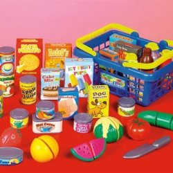 Small World Toys Living -Get To The Grocer Shop Basket