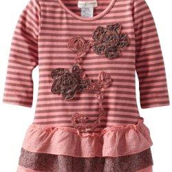 Mimi & Maggie Baby-Girls Infant Paper Mache, Pink, 12 Months