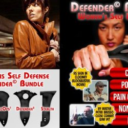 """Personal Self Defense - """"Women'S Self Defense Bundle"""" Legal Self Defense Tools -In Movie """"Men Who Stare At Goats"""" W/ George Clooney. Sale!"""