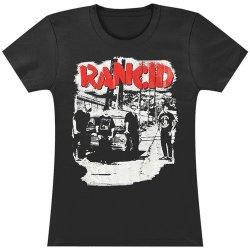 Rancid Women'S Alley Photo Black Girls Jr X-Large Black