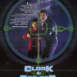 Cloak And Dagger Movie Poster 1984