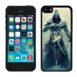 Diy Assassins Creed Revelations Desmond Miles Fan Art Equipment Knifes Iphone 5C Black Phone Case
