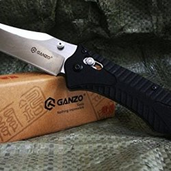 Ganzo Tool Folding Knife Pocket Knife Stainless Steel Foldable Tactical Survival Knife