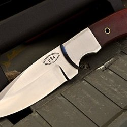 Cfk Usa Custom Handmade D2 Tool Steel Bushcraft Hunter Skinner Edc Camp Knife