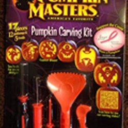Pumpkin Masters® Pumpkin Carving Kit: 17 Pieces-12 Patterns; Safer Than Kitchen Knives