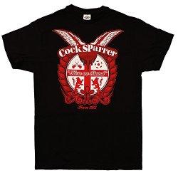 Cock Sparrer - Since 1972 - Black T-Shirt, Size: Small, Color: Black