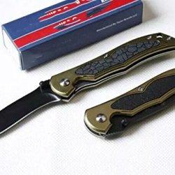 Sharp Stainless Steel Folding Line Lock Knife Wcsw511-7.36''